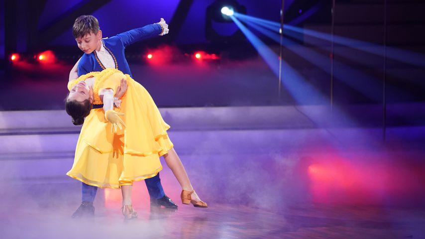 """Zoé und Mischa bei """"Let's Dance – Kids"""""""