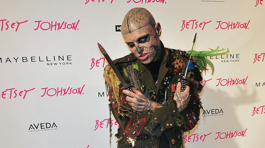 Zombie Boy auf der Mercedes-Benz Fashion Week 2013