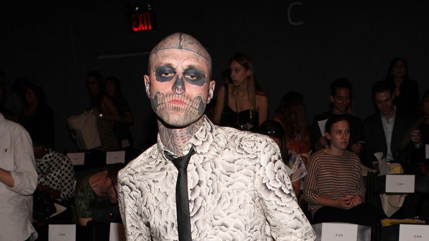Zombie Boy bei der New Yorker Fashion Week