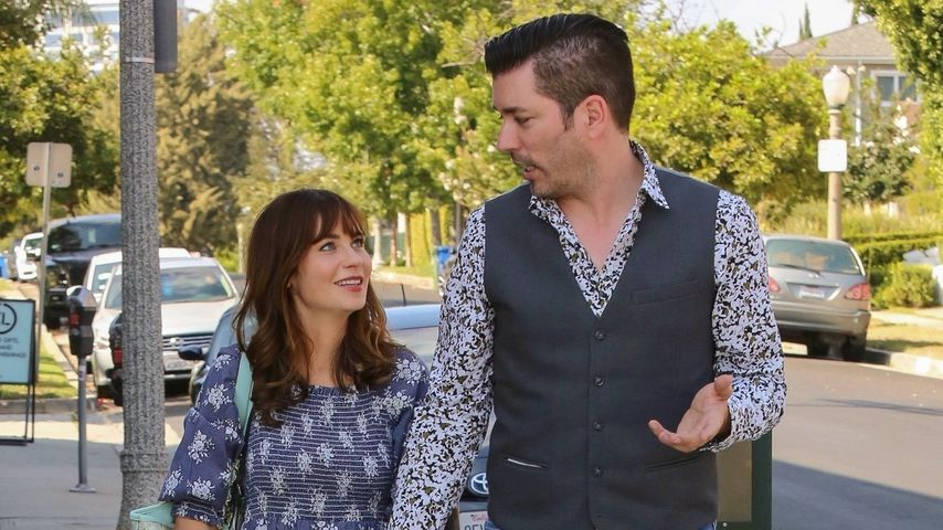 Zooey Deschanel und Jonathan Scott 2019 in Beverly Hills