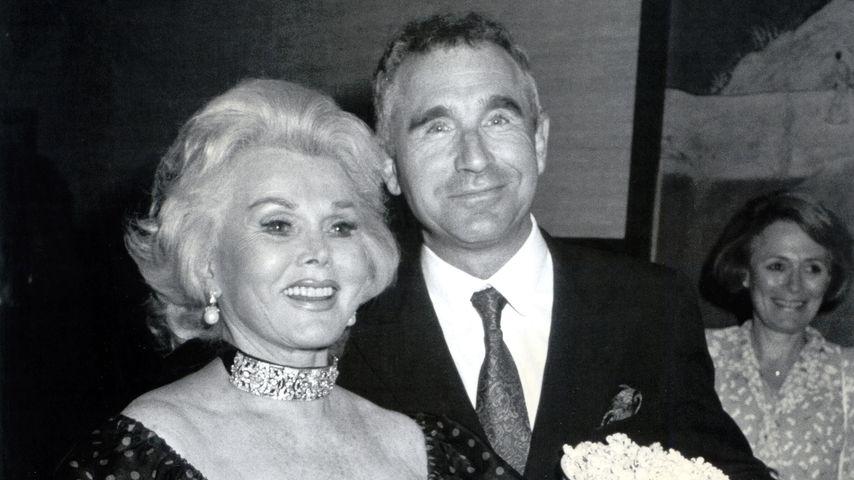 Zsa Zsa Gabor und Prinz Frédéric von Anhalt im Jahr 1986