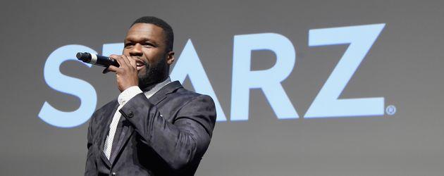 """50 Cent auf der Premiere der dritten Staffel von """"Starz"""" in New York"""