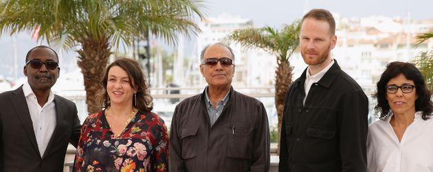 Abbas Kiarostami beim Cannes Film Festival 2014