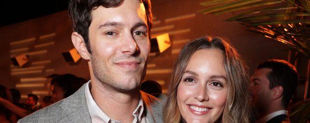 Adam Brody und Leighton Meester bei der Premiere von Crackle`s StartUp in Los Angeles