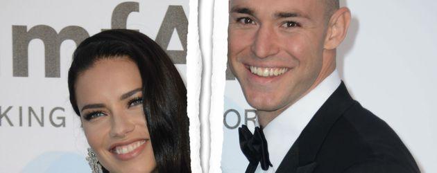 Adriana Lima und Joe Thomas beim amfAR Fundraiser Event