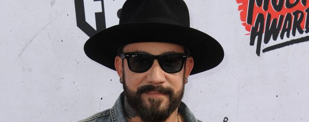 "AJ McLean bei der Verleihung der ""iHeart Radio Music Awards""  in Inglewood"