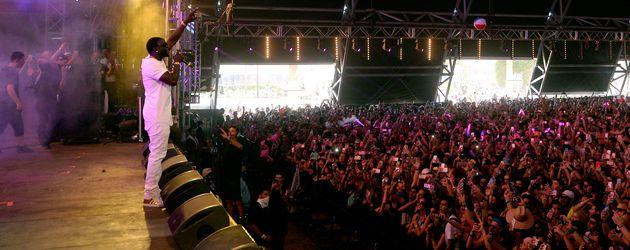 Akon auf der Coachella-Bühne 2016