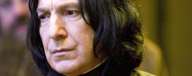 "Alan Rickman als Professor Snape in ""Harry Potter"""