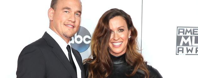 "Mario Treadway'und Alanis Morissette bei den ""American Music Awards"""