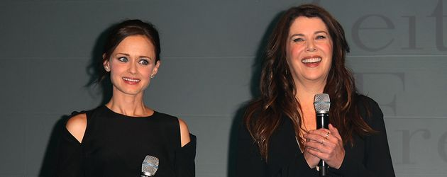 "Alexis Bledel und Lauren Graham bei einem ""Gilmore Girls""-Fanevent in Berlin"