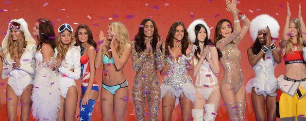 Gigi Hadid, Kendall Jenner, Candice Swanepoel und Adriana Lima