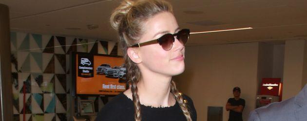 Amber Heard im August 2016 am Flughafen Los Angeles