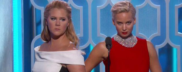Amy Schumer und Jennifer Lawrence