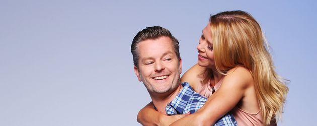 André Dietz und Tanja Szewczenko, AWZ-Schauspieler