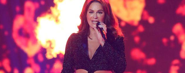 Andrea Berg bei einer Show in Kreuzlingen