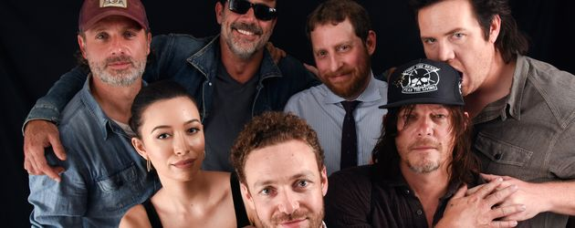 Andrew Lincoln, Christian Serratos, Ross Marquard, Jeffrey Dean Morgan, Scott M. Gimple, Norman Reed