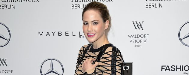 Angelina Heger bei der Fashion Week