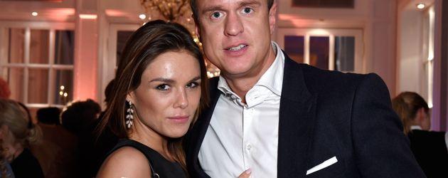 Angelina und Alexander Posth bei einer Shop-Eröffnung in Hamburg