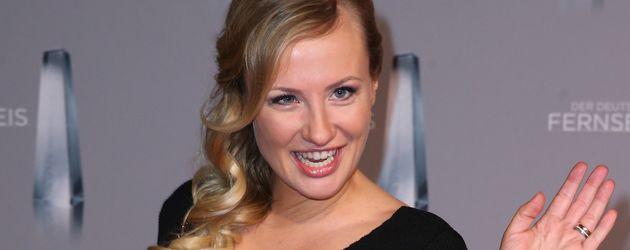 Ania Niedieck beim deutschen Fernsehpreis