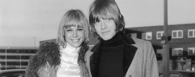 Anita Pallenberg und Brian Jones