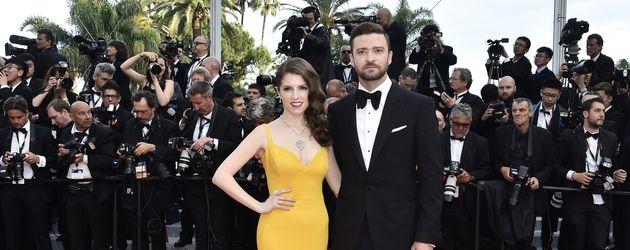 """Anna Kendrick und Justin Timberlake bei der """"Cafe Society""""-Premiere in Cannes"""