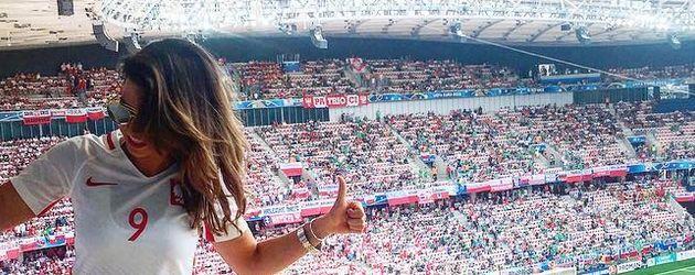 Anna Lewandowski bei der EM 2016