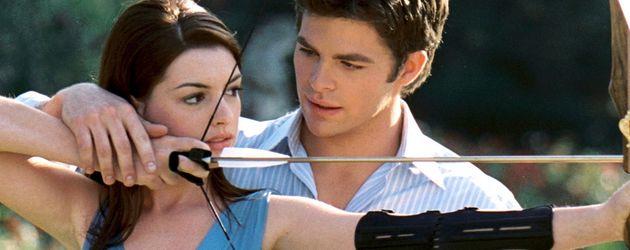 Anne Hathaway und Chris Pine