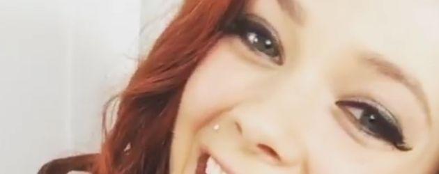 Anne Wünsche mit roten Haaren