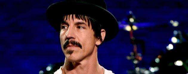 Anthony Kiedis bei der Red Hot Chili Peppers Album Release Party in Burbank, California