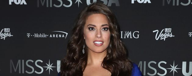 "Ashley Graham bei der Wahl zur ""Miss USA"""