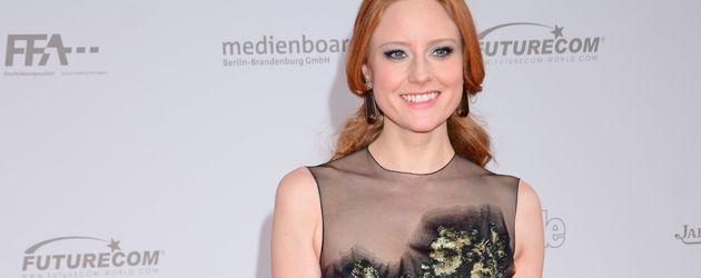 Barbara Meier beim Deutschen Filmpreis