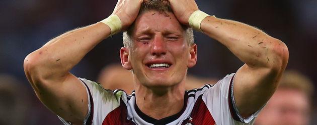 Bastian Schweinsteiger nach seinem WM-Triumph 2014