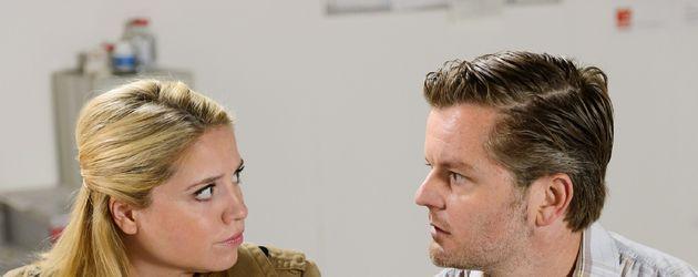 André Dietz und Caroline Frier