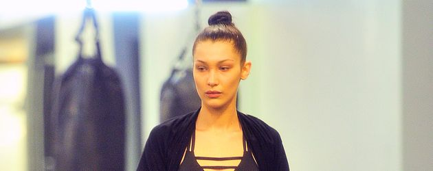 Bella Hadid im Gym in New York