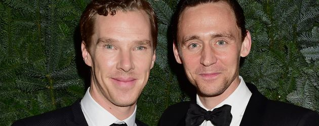 Benedict Cumberbatch (l.) und Tom Hiddleston