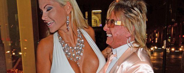 Sophia und Bert Wollersheim während der Eröffnung des Beauty-Salons Flaconi Neo