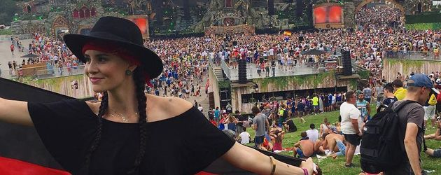 Betty Taube auf dem Tomorrowland-Festival