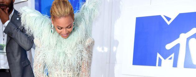 Beyoncé und Blue Ivy bei den VMAs 2016 in New York