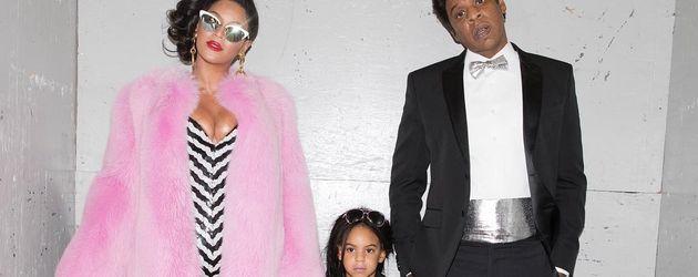 Beyoncé und Jay-Z als Ken und Barbie mit Tochter Blue Ivy