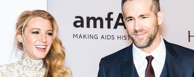 Das Schauspieler-Ehepaar Blake Lively und Ryan Reynolds
