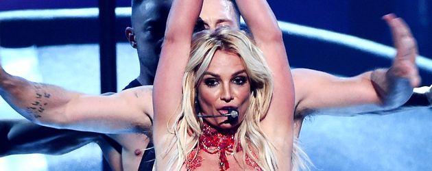 Britney Spears auf der Bühne in Las Vegas