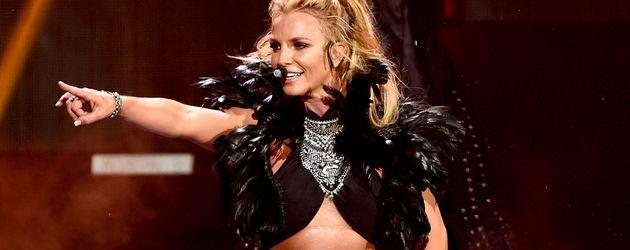 Britney Spears bei einem Auftritt in Las Vegas im September 2016