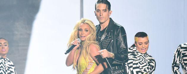 Sängerin Britney Spears bei den VMAs 2016