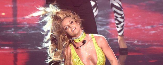 Britney Spears und G-Eazy bei ihrer VMA-Performance