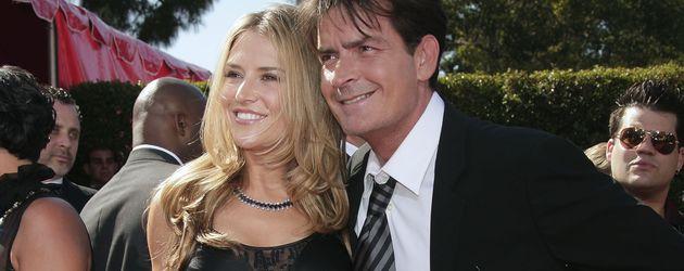Brooke Mueller und Charlie Sheen 2007 in Los Angeles