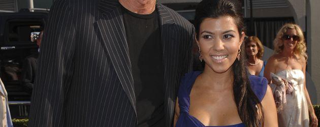 Kourtney Kardashian und Bruce Jenner