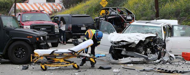 Unfallort von Caitlyn Jenner