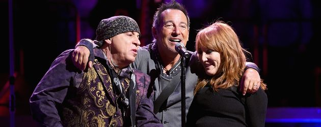 """Little Steven"", Bruce Springsteen und Patti Scialfa"