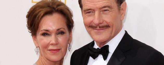 Bryan Cranston mit seiner Frau Robin Dearden