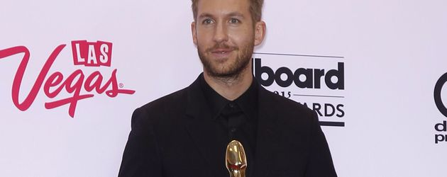 Calvin Harris mit dem Billboard Music Award